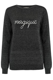 Rita Magique Sparkle Sweater - Black