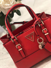 Guess Carys Satchel - Red