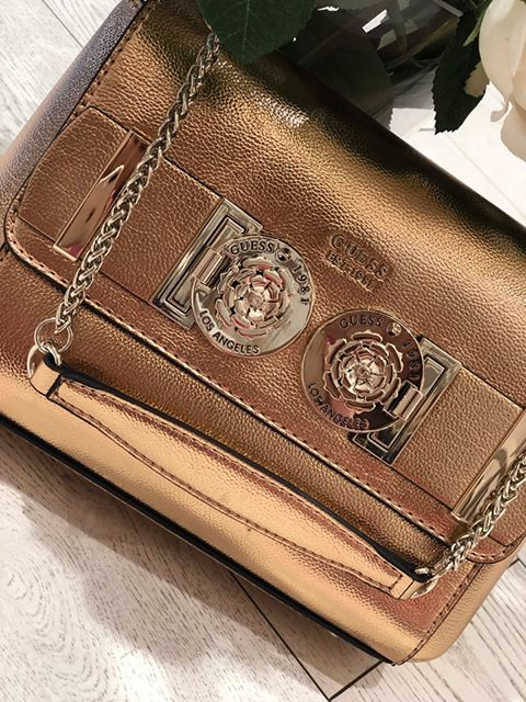 Guess Carina Convertable Xbody - Rose Gold