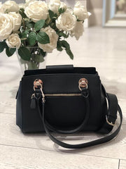 Guess Camila Luxury Satchel - Black