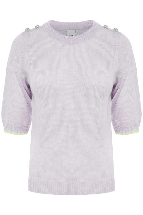 Laurel Short Sleeve Knit - Orchid Petal