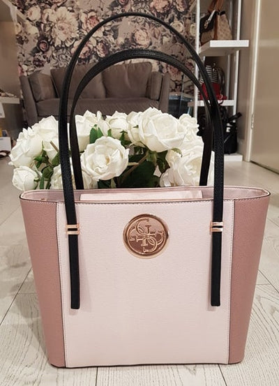 Guess Open Road Tote - Blush Multi