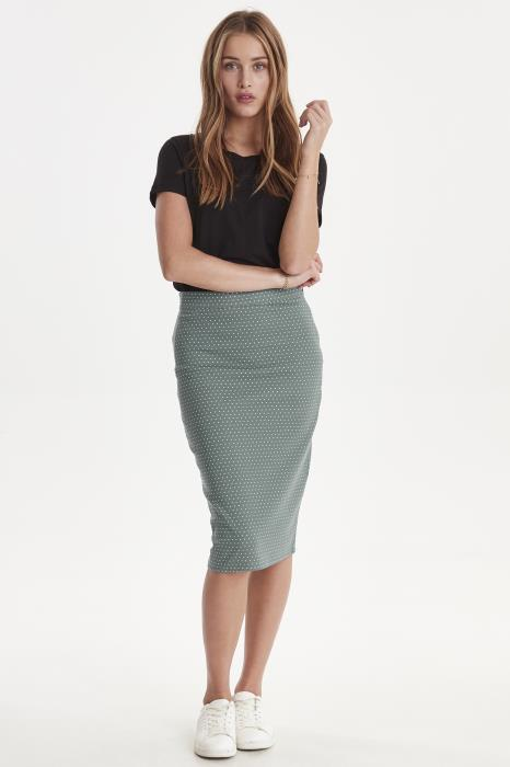 Kate Spot Skirt - North Atlantic