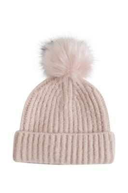 Kamma Bobble Hat - Peach Whip