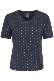 Ihdottie Short Sleeve Top - Total Eclipse
