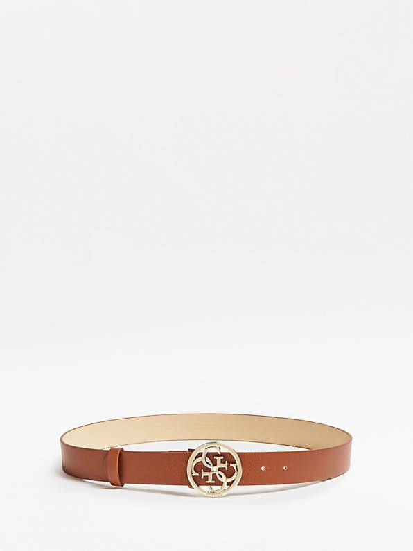 Guess Maddy Adjustable Belt - Cognac