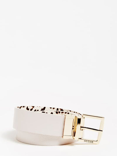 Guess Lorenna Reversible Belt - Leopard