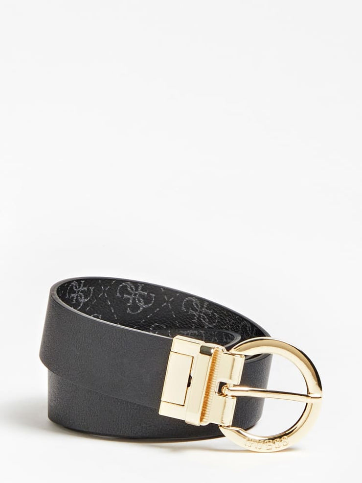 Guess Camy Reversible Belt - Black