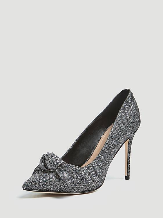 Guess Bennet Decollete Sparkle Heels - Black