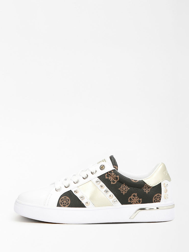 Guess Ricena Sneakers - Brown