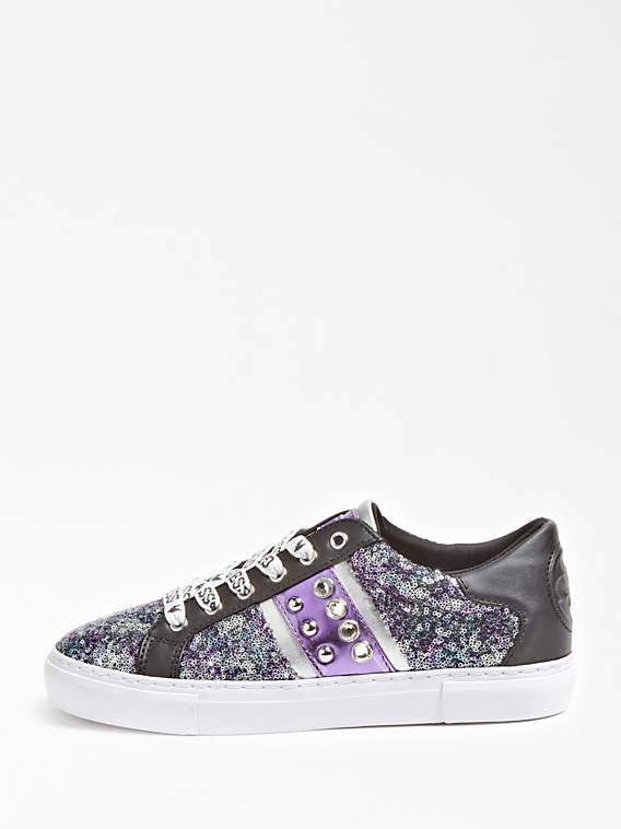 Guess Glitzy Active Lady Sneaker - Purple