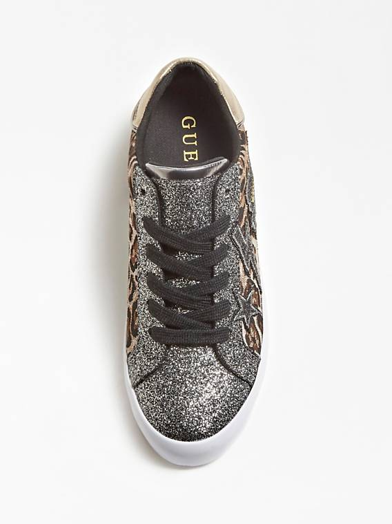 Guess Path Active Lady Sneaker - Leopard