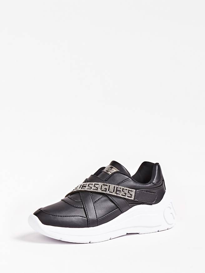 Guess Stone Detail Active Sneaker - Black