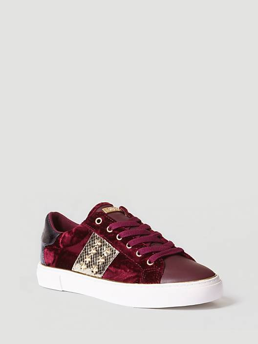 Gamer Active Lady Sneaker - Dark Red