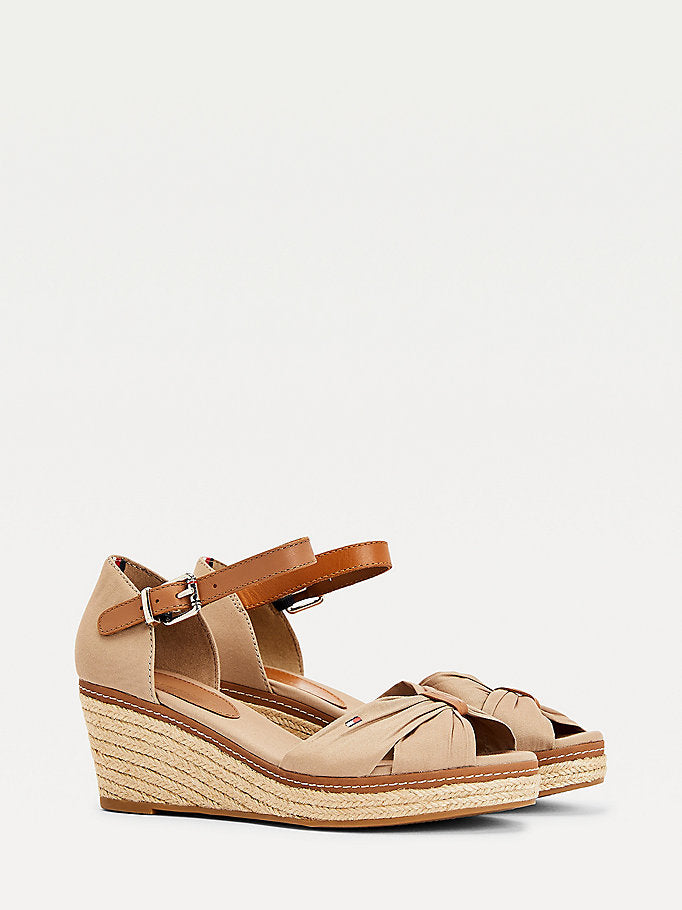 Tommy Hiliger Iconic Wedge Espadrilles - Cobblestone