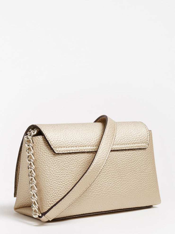 Guess Uptown Chic Crossbody - Gold