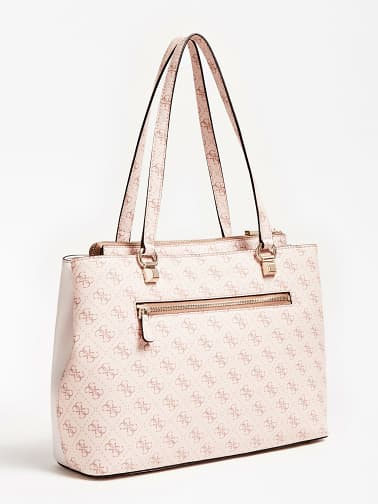 Guess Camy Girlfriend Carryall - Blush Multi