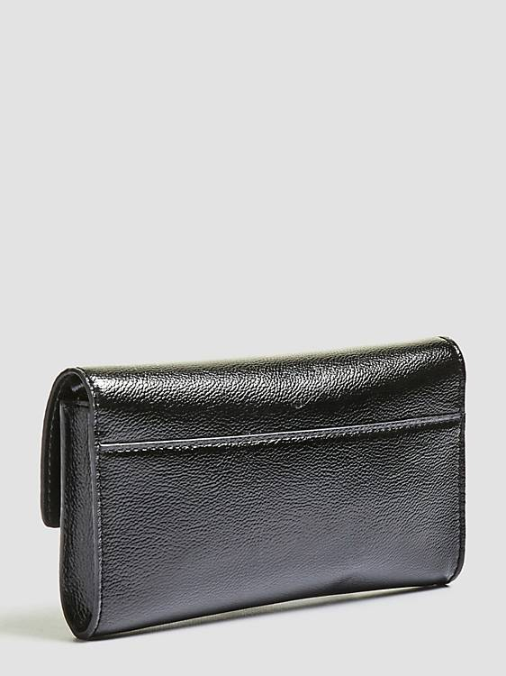 Guess Lynda Crossbody Clutch - Black