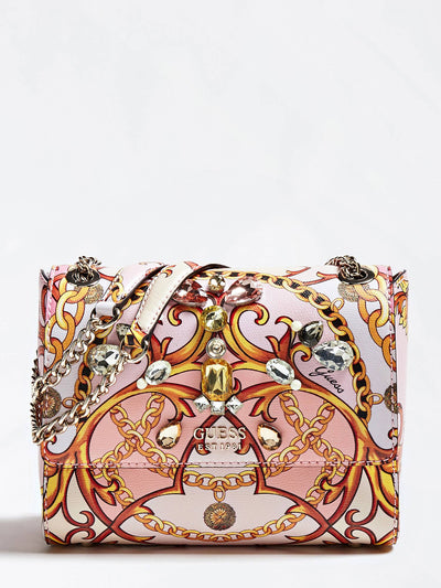 Guess Jori Convertable XBody Flap - Rose Multi