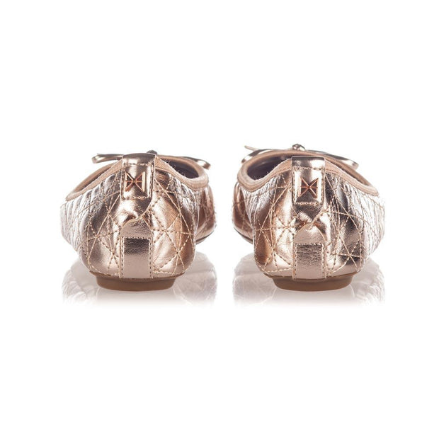 Holly Rose Gold Ballet Flats