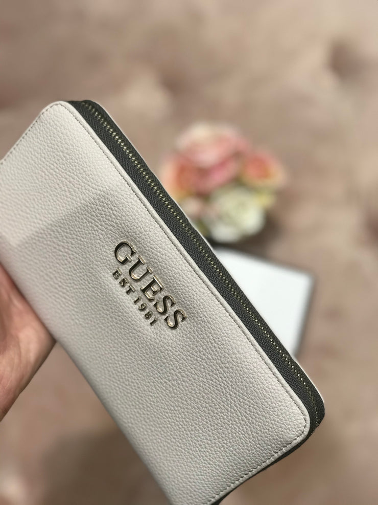 Guess G Chain SLG Large Purse - Stone