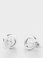 Guess Never Without Stud Earrings - Silver