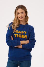 Laurie Easy Tiger Sweatshirt - Navy