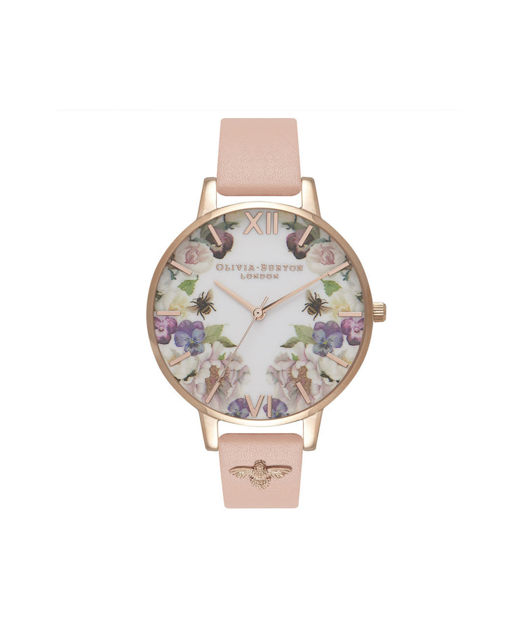 Enchanted Garden Dusty Pink & Rose Gold - G111