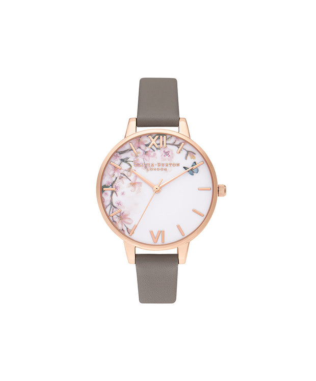 Pretty Blossom Demi London Grey & Rose Gold - EG112