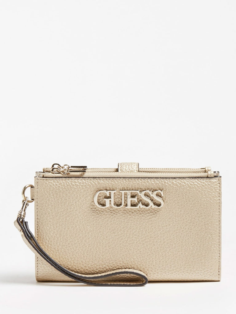 Guess Uptown Chic Double Zip Organiser - Gold