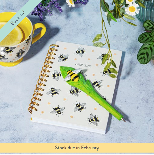 Busy Bees A5 Notebook