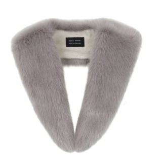 Opal Faux Fur Long Collar