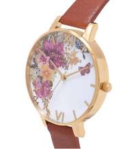 Enchanted Tan And Gold Watch - EG94
