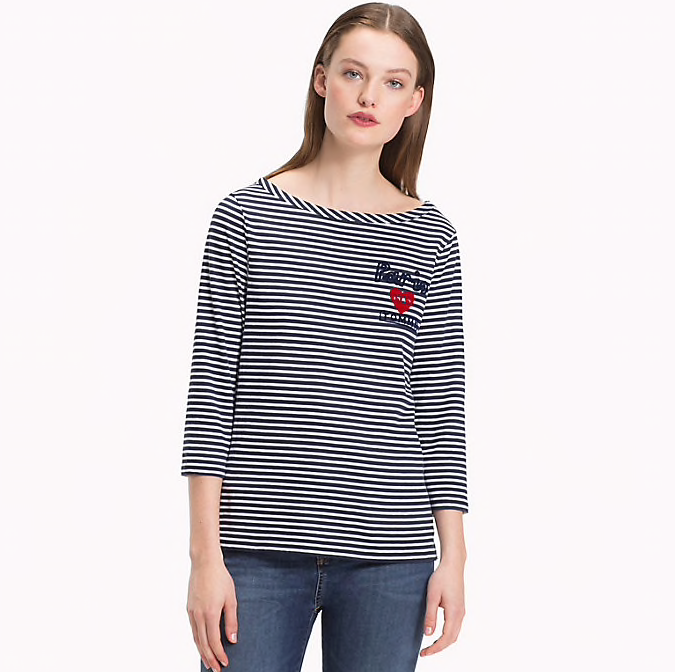 Tommy Hilfiger Lexi Boat Neck Top