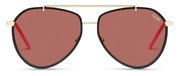 Dirty Habit Sunglasses - Gold/Brown
