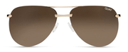 The Playa Sunglasses - Gold/Brown