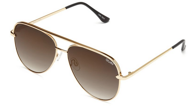 Sahara Sunglasses - Gold/Smoke Taupe