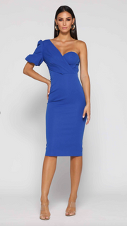 Julia Dress - Cobalt