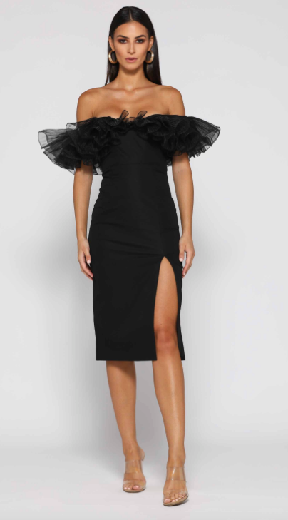 Hayley Dress - Black