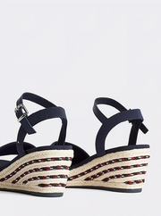 Tommy Hilfiger Sporty Textile Mid Wedge - Sport Navy