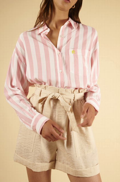Carina Shirt - Rose