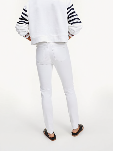 Tommy Hilfiger Como Skinny Fit Jeans - White