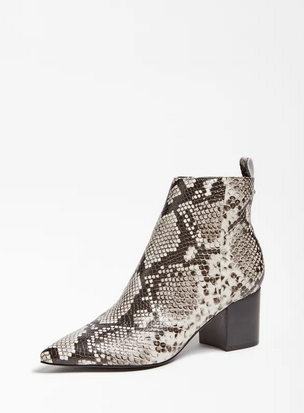 Guess Jelly Ankle Boot - Python Print