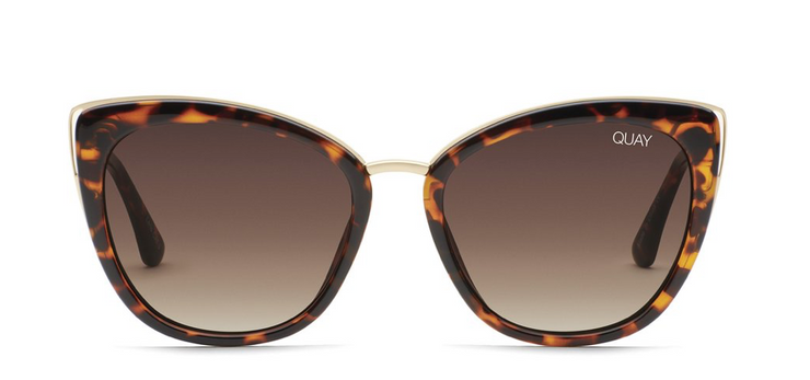 Quay Honey Sunglasses - Tortoise/Brown Lens