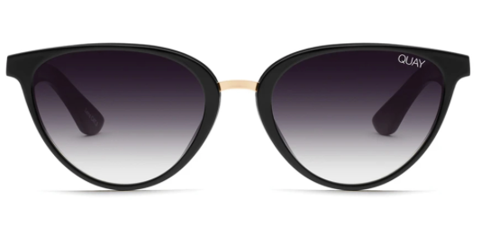 Quay Rumours Sunglasses - Black Fade Lens
