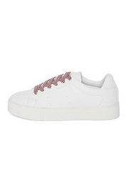 Dorit Pattern Lace Trainer - Cloud Dancer