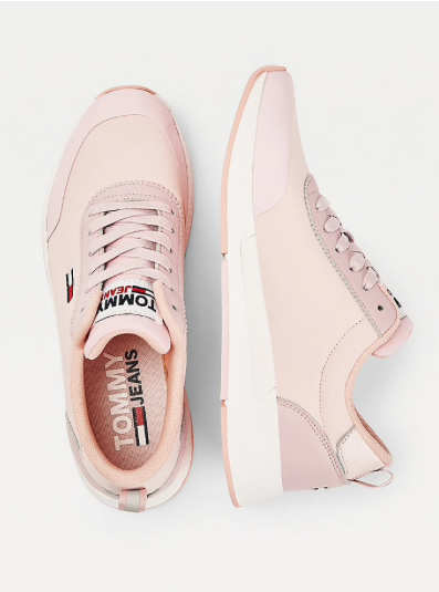Essential Mixed Panel Lace Up Trainers