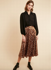 Edel Weiss Skirt - Marron Glace