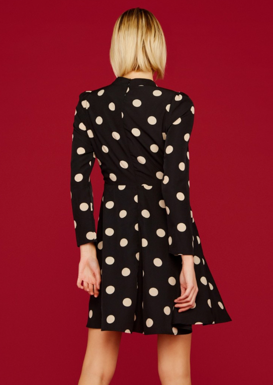 Dotty Dress - Black