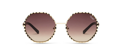Breeze In Sunglasses - Gold/Brown